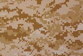 Desert digital camouflage — Stock Photo