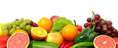 Fresh fruits and vegetables — Foto de Stock