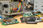 Reparatur eines computers — Stockfoto