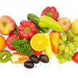 Fruits and vegetables - Foto de Stock  