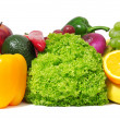 Fresh fruits and vegetables — Stock Photo