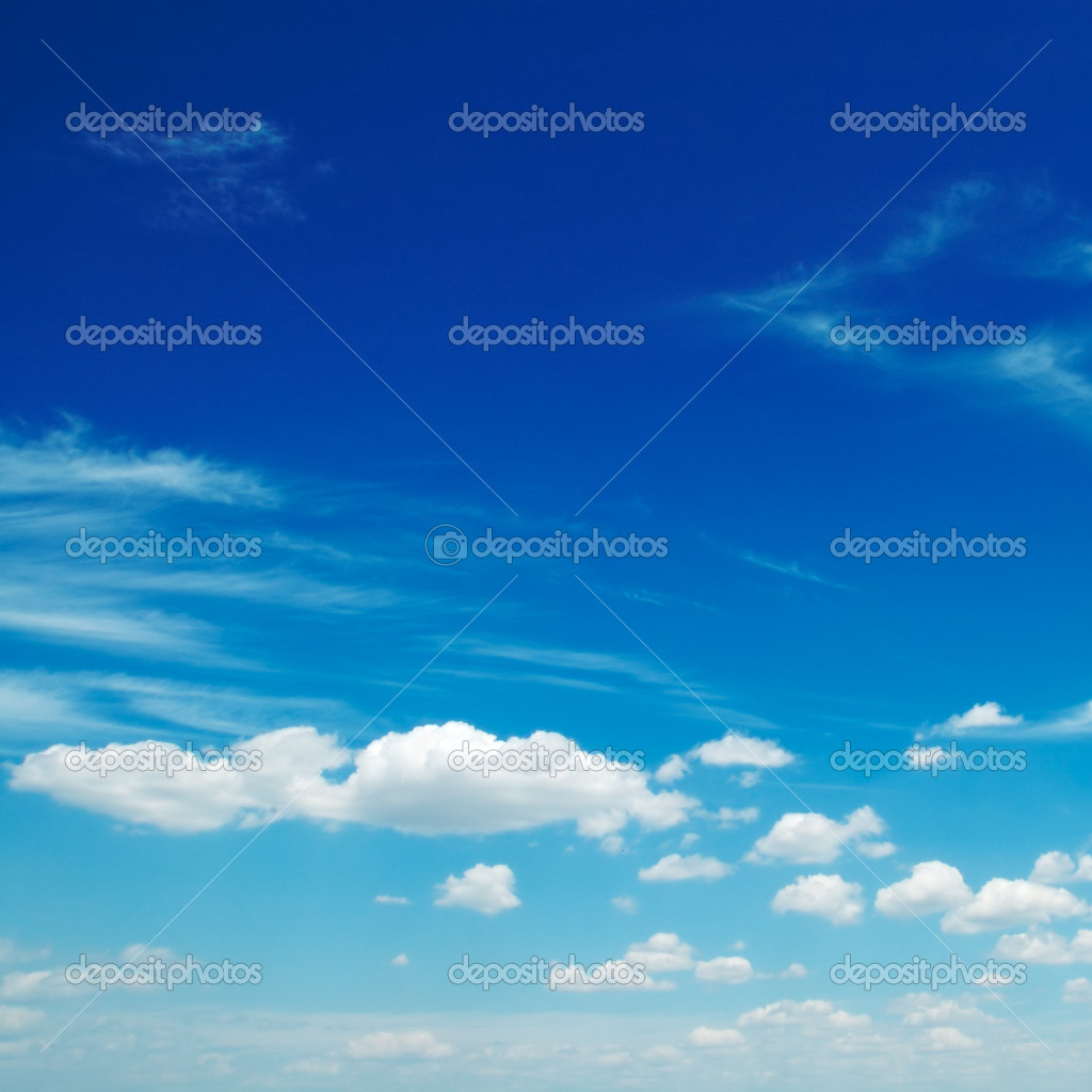 Clouds in the blue sky                                     — Stock Photo #2879577