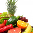 Fresh fruits and vegetables — Stock Photo #2900366