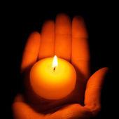 świecę — Zdjęcie stockowe