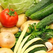 Samling grönsaker — Stockfoto