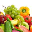 Fresh fruits and vegetables — 图库照片