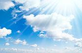 太阳晒 — 图库照片