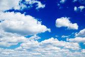 Nuvens brancas — Fotografia Stock