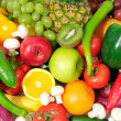 Fresh fruits and vegetables - Foto de Stock  