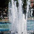 Cascading Water Fountain — Stock Photo