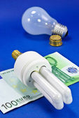 Energy Saving Bulb — Stock Photo