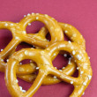 Pretzels closeup — Stock Photo