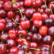 Ripe Red Cherries — Stock Photo