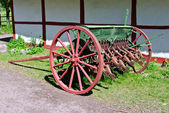 Antique Farming Plow — Stock Photo