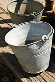 Water Buckets — Stock Photo