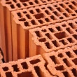 Stock Photo: Construction Bricks Closeup