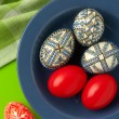 Easter eggs still-life — Stock Photo #2854798
