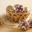 Easter eggs still-life — Stock Photo #2854815