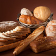 Assortment of baked bread — Stock Photo #3501698