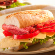 Baguette sandwich — Stock Photo #3501751
