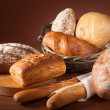 Assortment of baked bread — Stock Photo #3501757