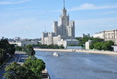 Moscow River classic panorama/ — Foto Stock