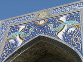 Mosaic in Bukhara — Stock Photo