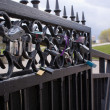 Stock Photo: The love lock