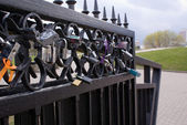 The love lock — Stock Photo