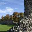 Berkhamsted castle ruins hertfordshire - Stock Photo