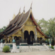 Luang prabang tropical temple laos — Stock Photo #2792344