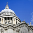 Stock Photo: St pauls cathedral city of london