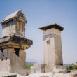 Xanthos ruins harpy tower turkey — Stock Photo