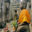 Angkor buddha - Stock Photo