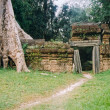 Angkor gate — Stock Photo