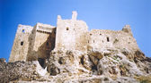 Assasins fortress ruins syria — Stock Photo