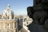 Radcliffe camera university buildings — Stock Photo