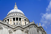 St pauls cathedral city of london — Stock Photo