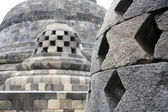 Borobudur stupas — Stock Photo