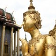 Golden kinnari bangkok grand palace — Stock Photo #2807651