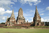 Ayutthaya temple ruins — Stock Photo