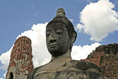 Ayutthaya sky — Stock Photo