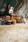 пещера будды краби таиланд — Стоковое фото