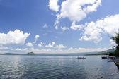 Lake taal bankas — Stock Photo