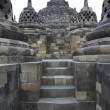 Borobudur architecture — Stock Photo