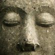 Buddhas face - Stock Photo