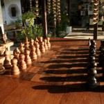 Chess shadows — Stock Photo #2819262