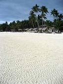 белый песчаный пляж — Стоковое фото