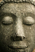 Buddhas face — Stock Photo