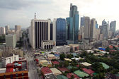 Makati city — Stock Photo